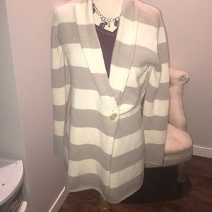 Long and cozy striped sweater!